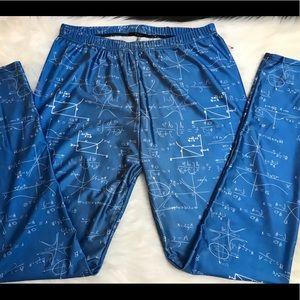 Ladies math leggings